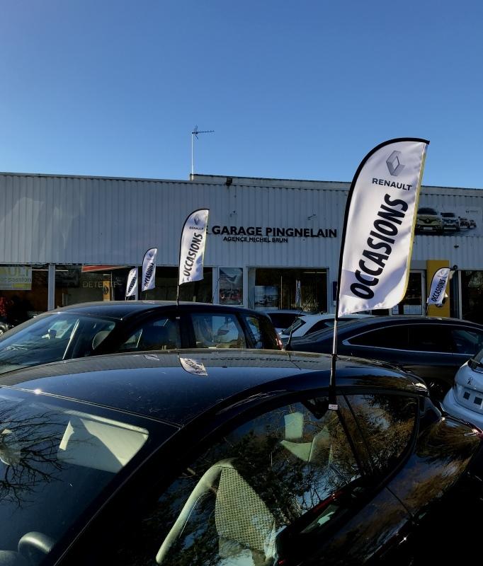 Drapeaux occasions Renault