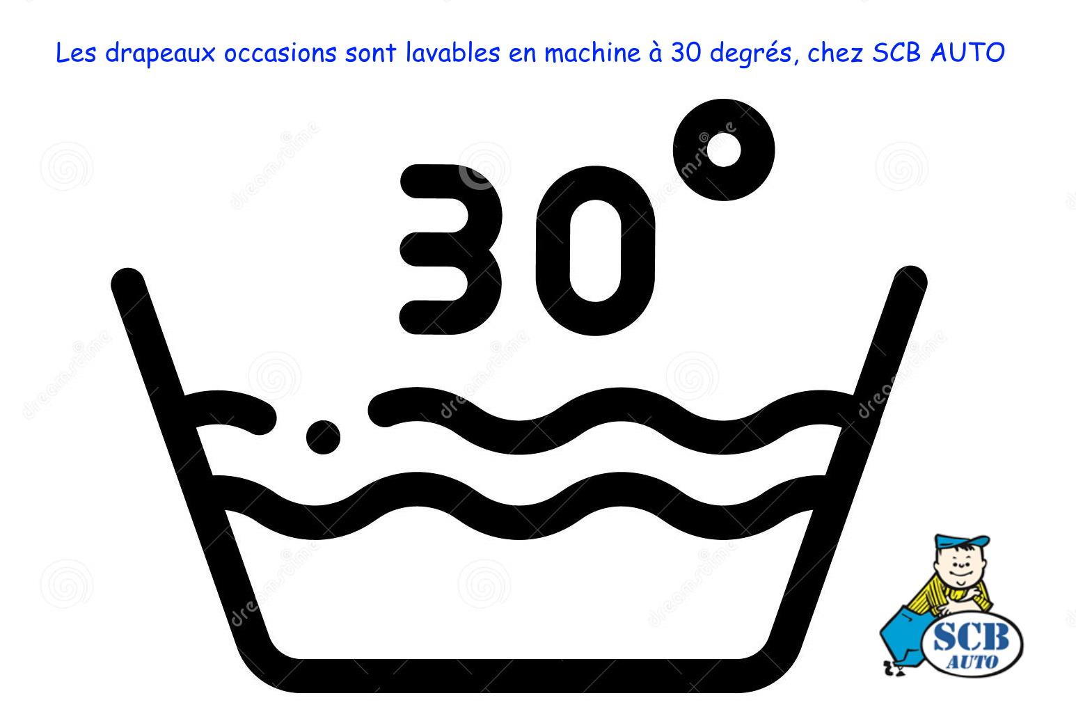 Drapeaux occasion Pavillons Vo lavables