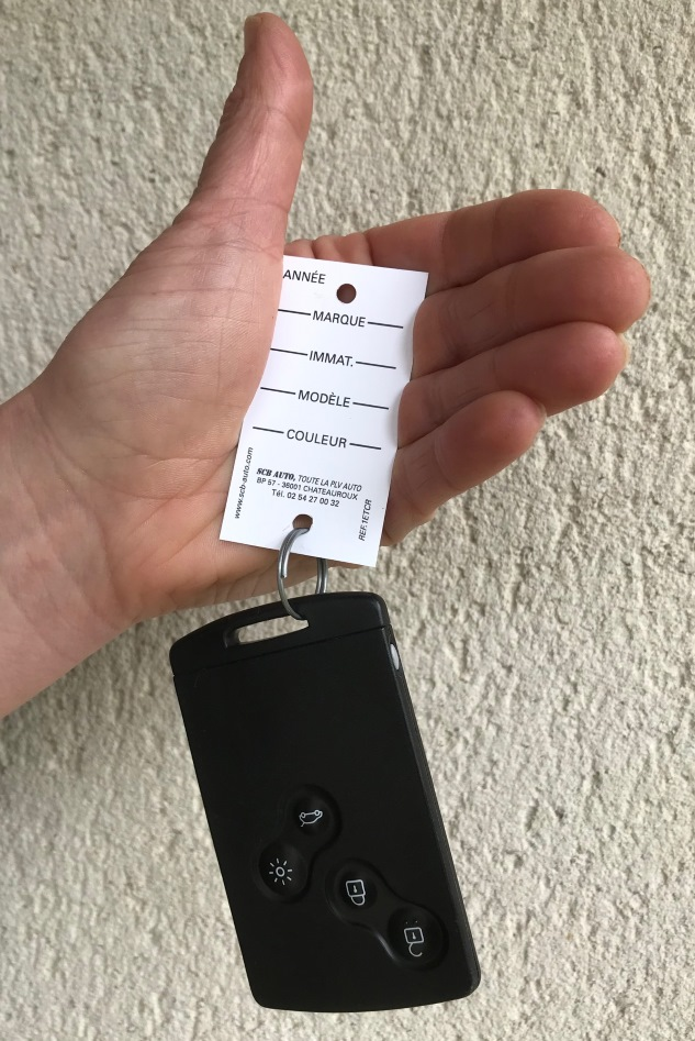 Etiquette de clés Vo Vn